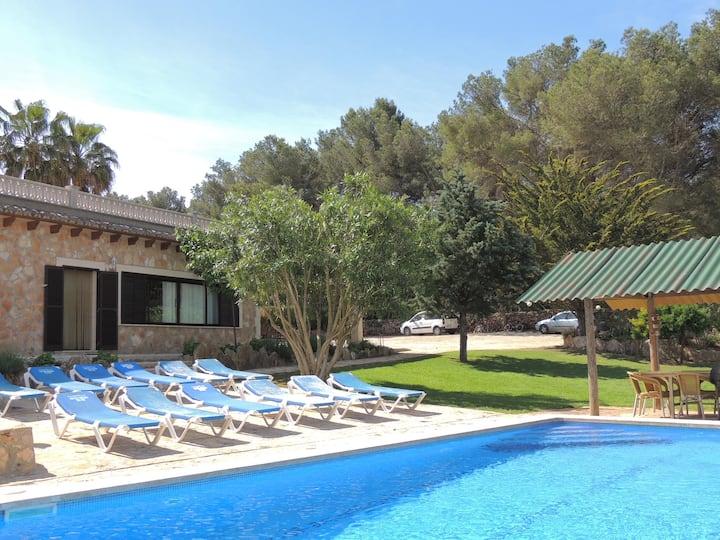 Lovely villa close to Cala Blava x 10 people