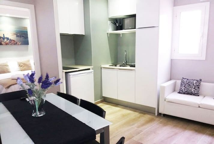 Barcelona Fifteen - 2 bedrooms with double beds