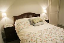 The large Master/Double Bedroom with En-suite Bathroom.