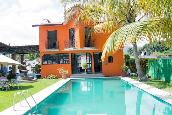 Two Story Vacation Home in Yautepec Morelos