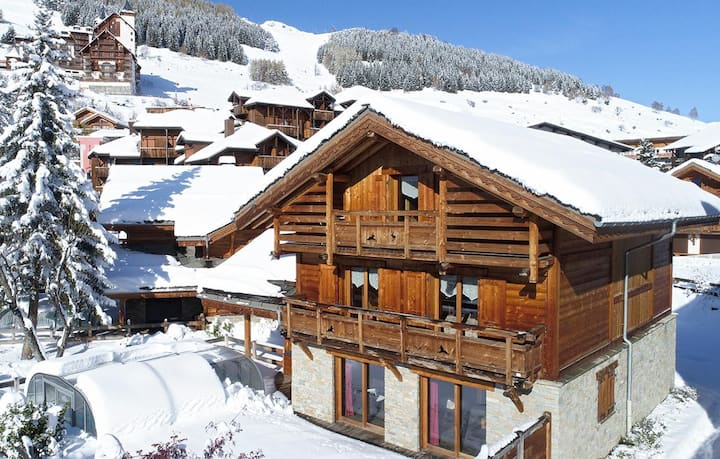 Beautiful Traditional Style Chalet in Les Deux Alpes