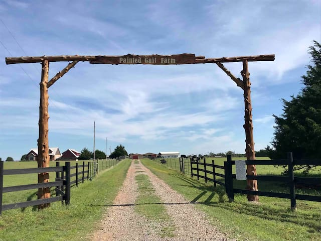 Self Catering Home on Working Cattle Ranch