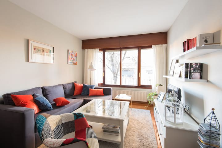 Cozy and bright room on the beach - Getxo - Apartment