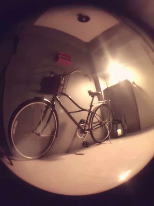 免费提供自行车