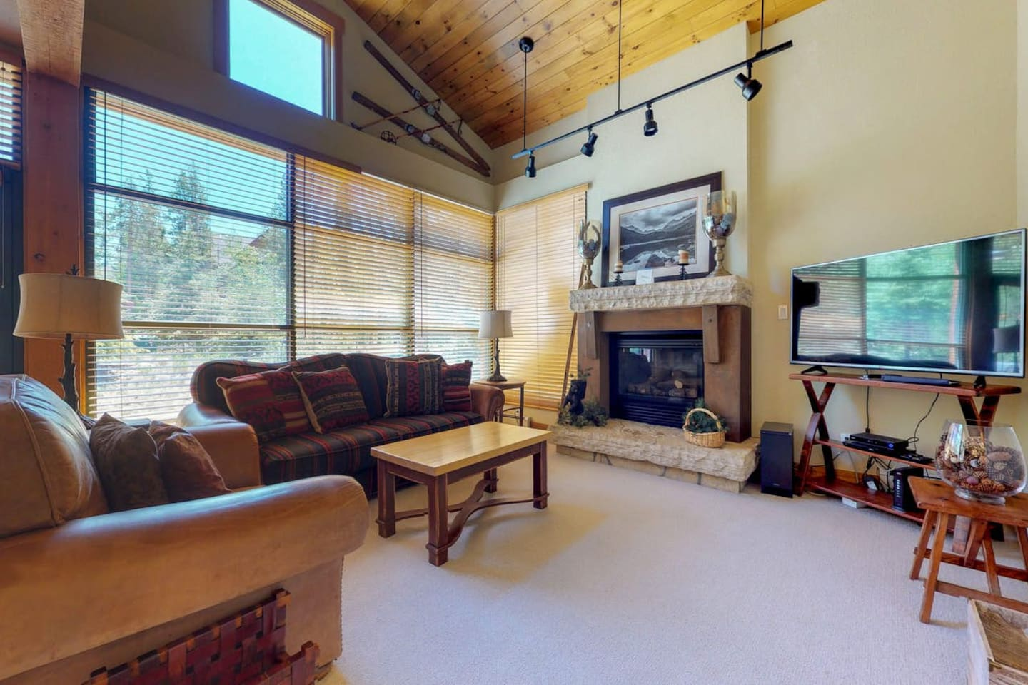 3 bedroom vacation rental at Ski Tip Townhomes in Keystone, CO