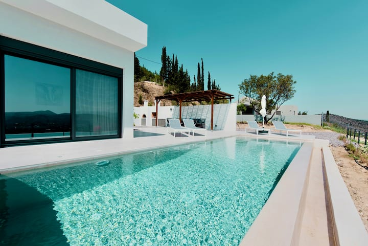 Villa Eleni-luxury, modern, view of the sea villa