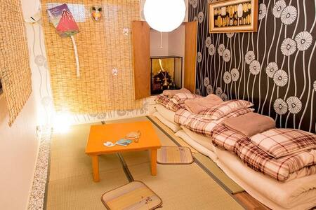 private apt Japanese style room for 3 - Miyakojima-ku, Ōsaka-shi