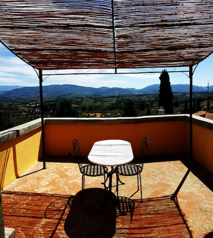 Tiny romantic tower on the hills of Florence - Impruneta - Apartmen