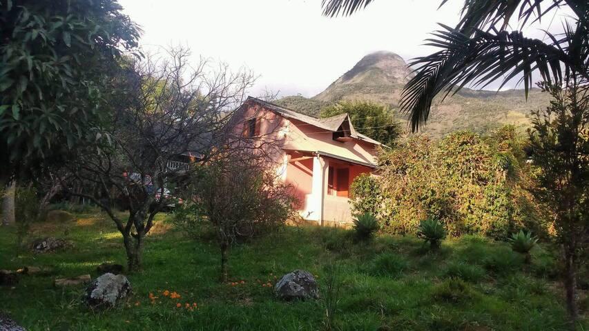 Quintal da mata camping e hospedagem