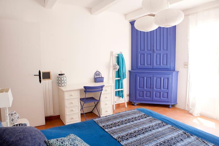chambre Indigo