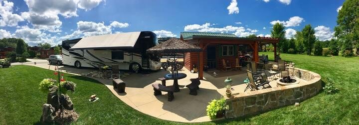 Class A Resort for Class A Coaches/Blue Ridge Mts.