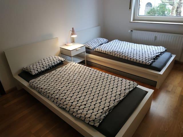 60m² 2Zimmer Wohnung im Duisburger Zentrum