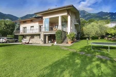 FREE WIFI!Villa Lake view near Varenna.KIDS FRIEND - Lierna