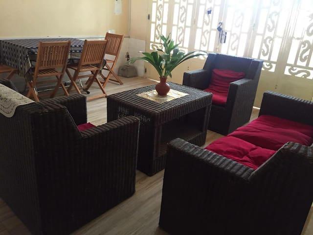 A spacious flat in Phnom Penh
