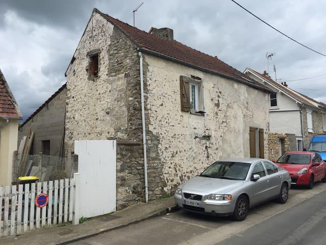 1 chambre pour 2 et 1 pour 1 enfant - Aincourt - Haus