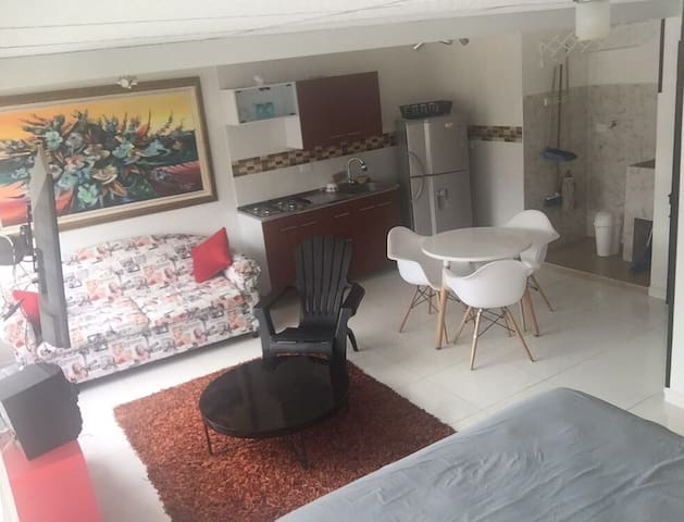 Apartaestudio bello y cómodo en Ibagué
