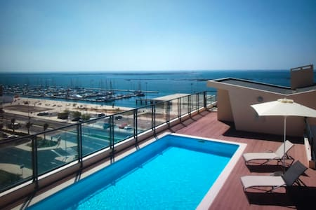 Luxury Sea View Apartment  with Pool