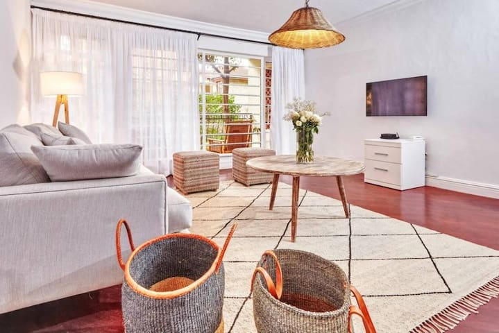 Chic, luxurious 3-bedroom home in leafy Kilimani