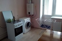 Flat  in a quiet area with daily transfer and food