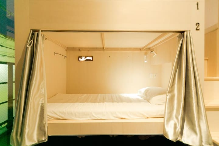 Hostel FUTAGI Bed in 6-Bed Female Dormitory Room