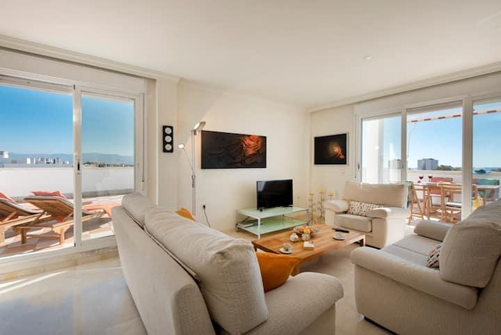 Los Álamos Beach Penthouse