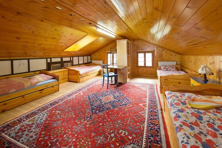 Guest House Bellevue Grächen - 格雷興 - 家庭式旅館