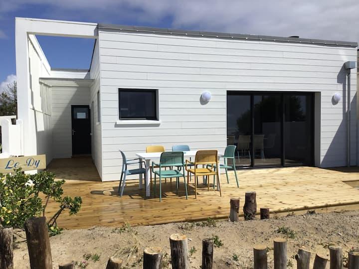 Superbe maison de vacances face à la mer à Pirou