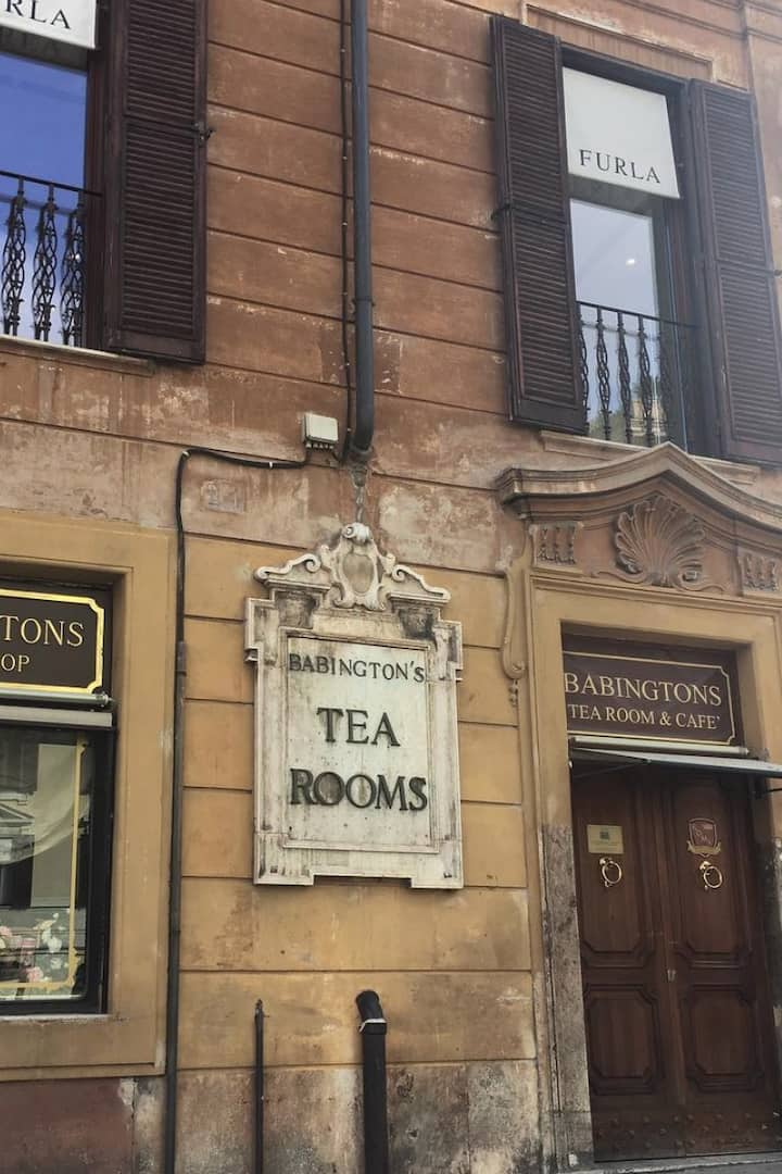 Babington's tea house piazza di Spagna
