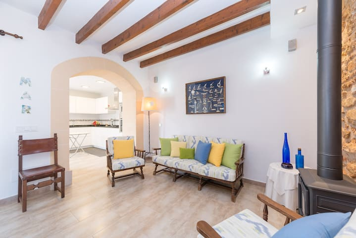 TORNASOL - Chalet for 6 people in Colonia de Sant Pere. - Colonia de Sant Pere - House