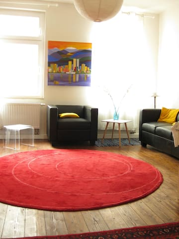 """Great apartment """"Bach"""" 90m² in center of Leipzig"""