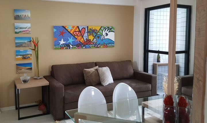 Apartamento TOP na praia de Ponta Negra, Natal.