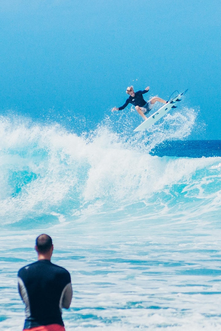 Everyone can enjoy surfing.