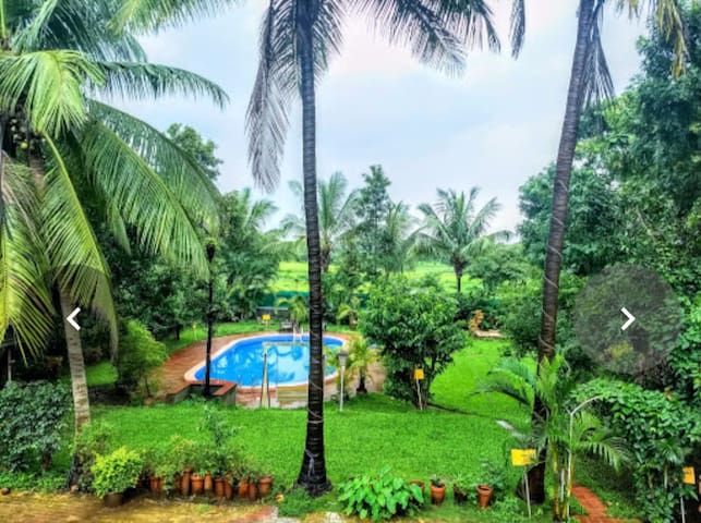 Experience Farmhouse Stay at Nisarg Healing Karjat