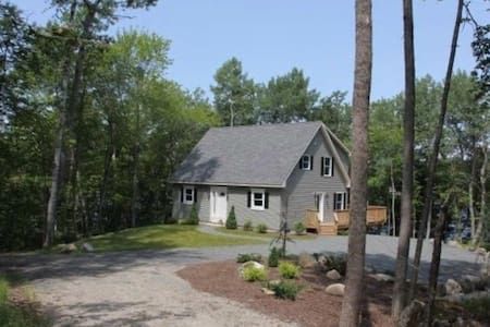 Rhumb Line Cottage, Oceanview in Surry, Maine - Surry - Talo