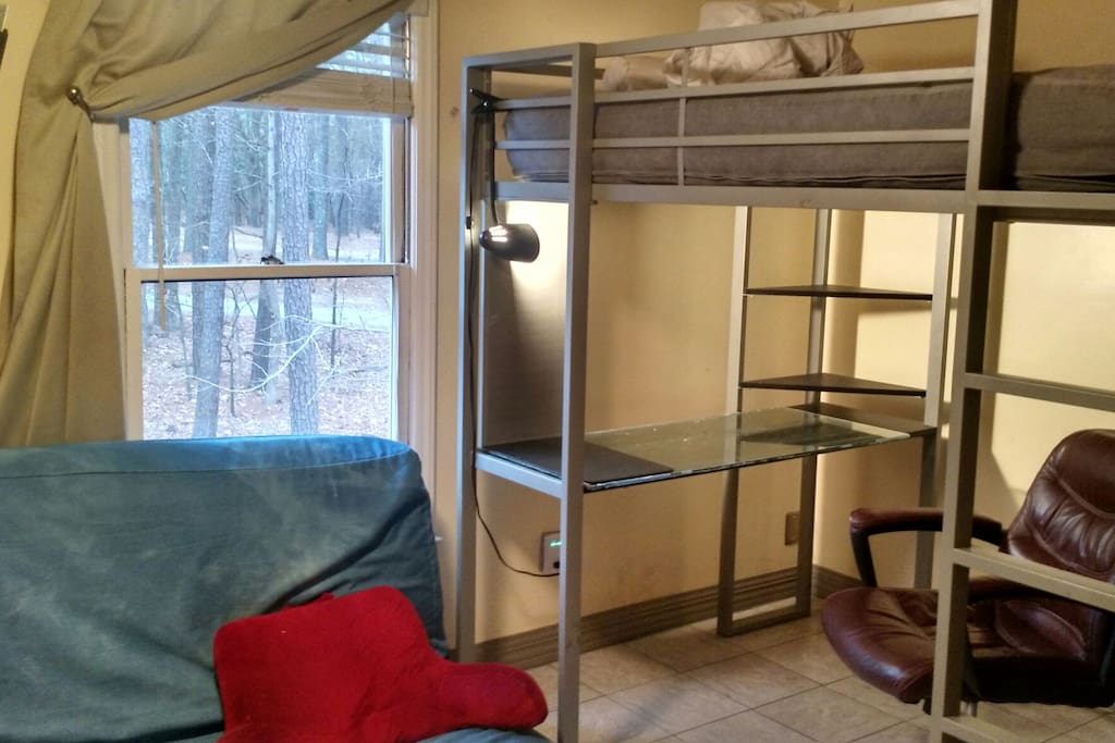 Bedroom With One Queen And One Full Sized Bed Apartments For Rent In Chapel Hill North