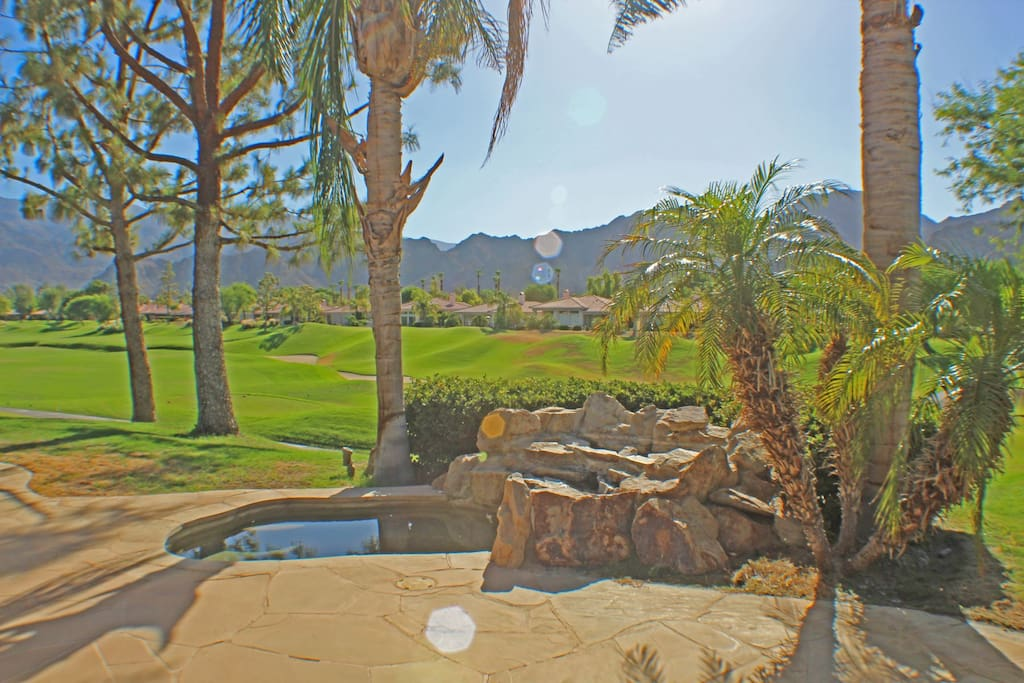 Located on the fairway with beautiful views