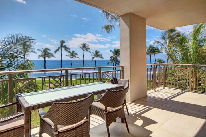 Hyatt Residence Club Maui 3 BR Oceanfront Lower Villa