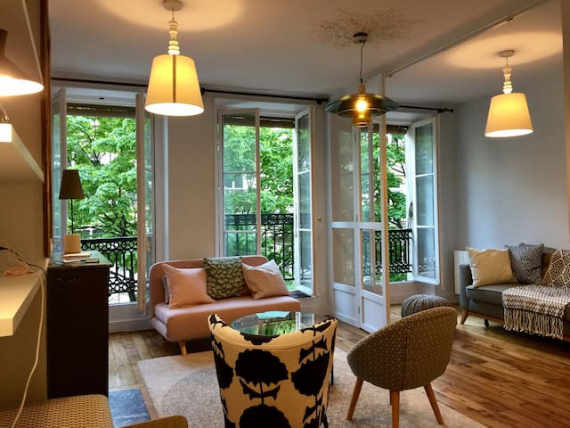 Cosy 3 Bedroom Apartment in Central Paris - París - Apartamento