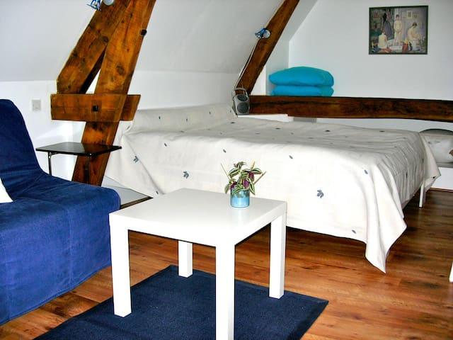 """La chambre """"Ciel"""" à Henrichemont - Henrichemont - House"""