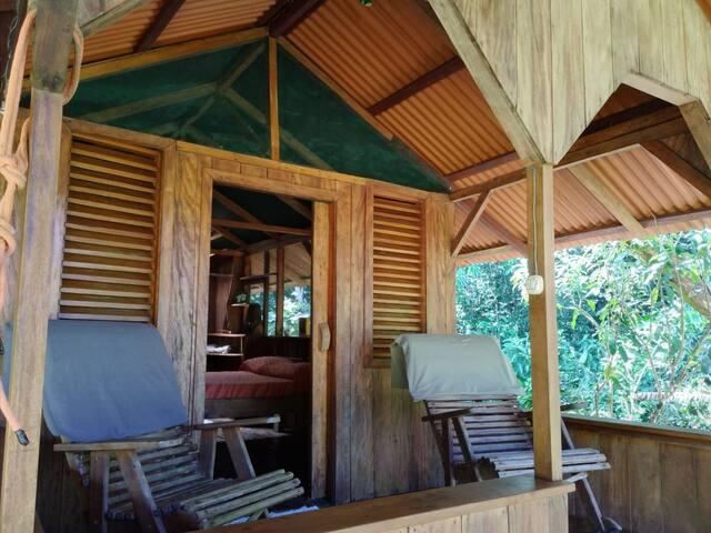 """Casa Pequeña  Eco Farm """"Congo"""" 2 persons"""