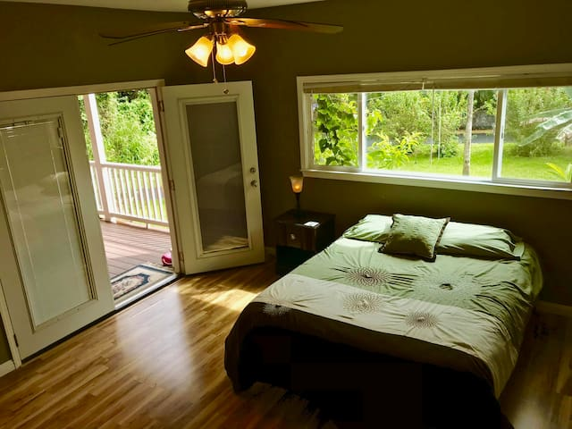 Front bedroom with separate entry