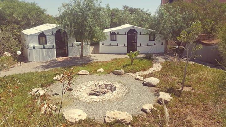 Les Tentes Caïdales au centre Douar Noujou