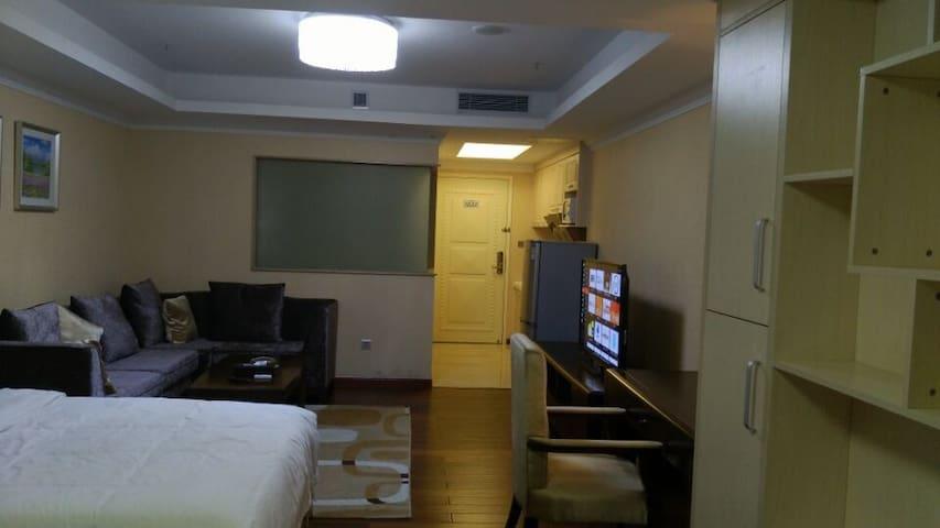 花园酒店旁边正佳东方国际公寓,淘金地铁站边可接送,近白云宾馆、近小北 - Cantón - Apartamento
