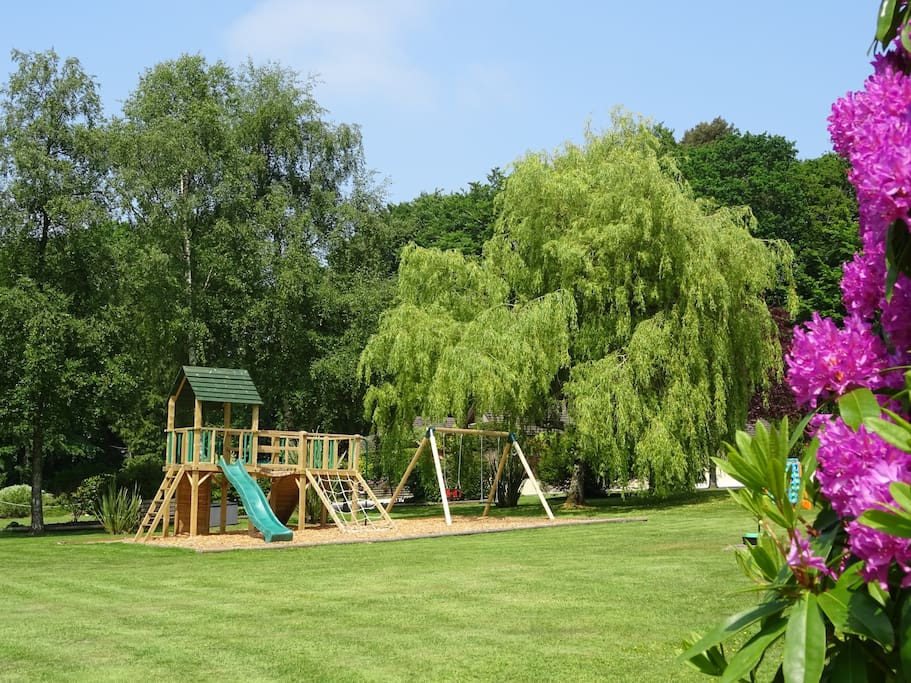 Beautiful green space with Children's  Play Area