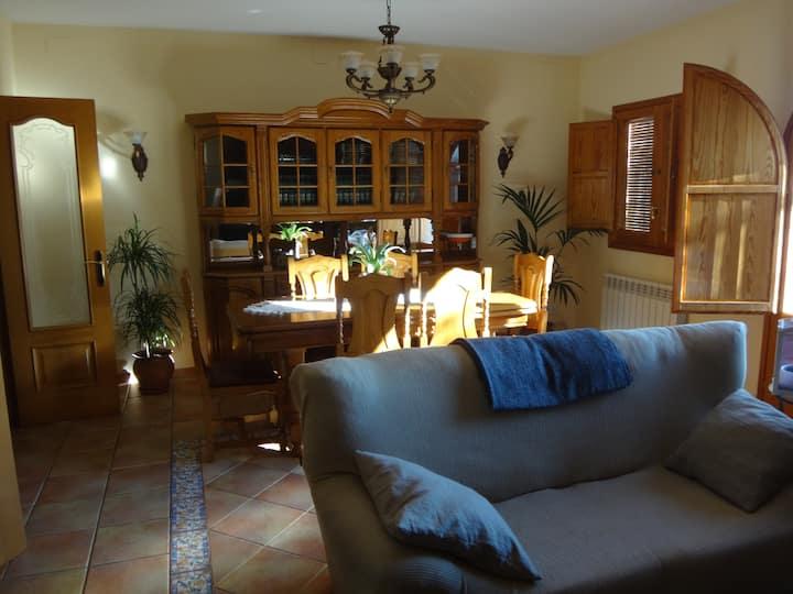 Casa rural en Collbató al pié de Montserrat