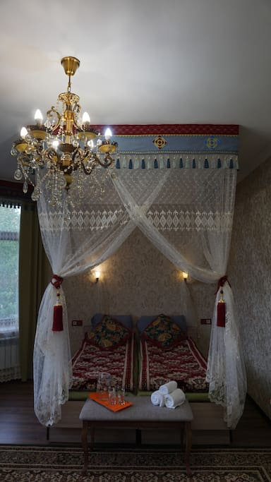 Another view of the deluxe room.