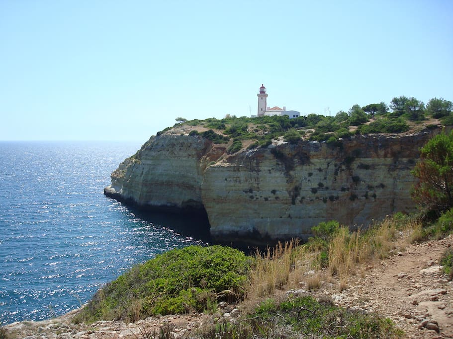 lighthouse of Alfanzina nearby
