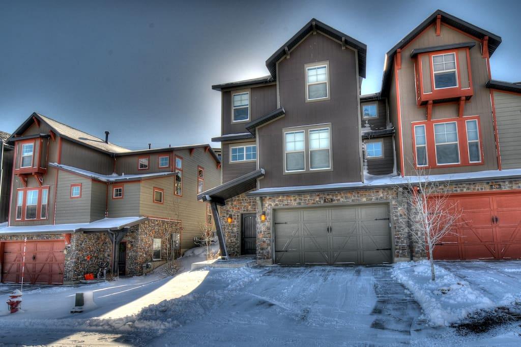 Front of home - Winter View Retreat at Jordanelle-Park City Area, UT