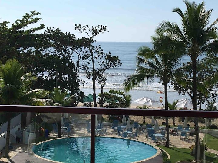 Apt 120m2 1 Suite Praia Toninhas e enorme terraço