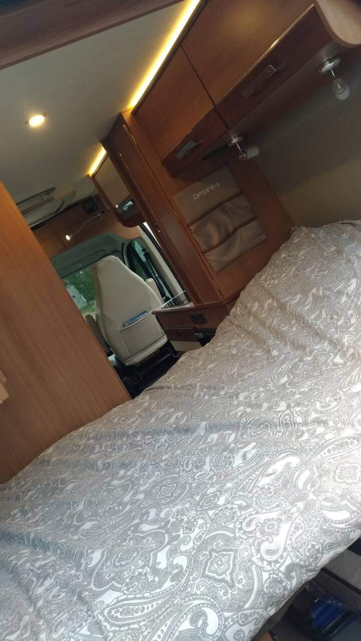 logement en camping car cocooning